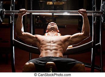 workout., gimnasio