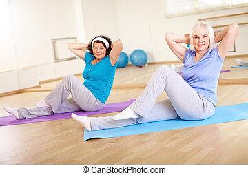 workout, turnhalle