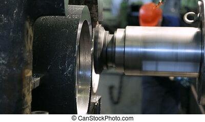 Workpiece processing on milling machine