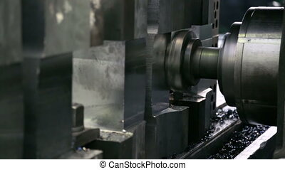 Workpiece processing on milling machine
