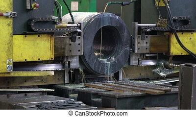 workpiece, processus, machine découpage