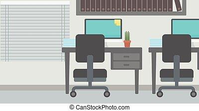 workplace., 背景, 办公室
