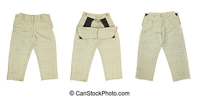 works., pantaloni, saldatura