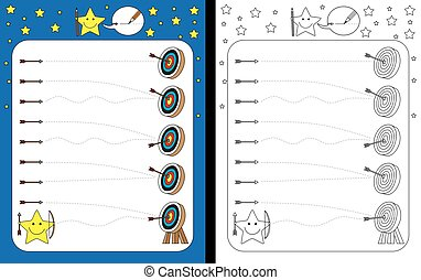 worksheet, preschool