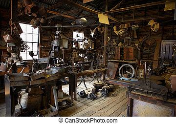 19th century workshop in Ballarat to make utensils