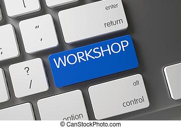 Workshop Close Up of Keyboard.