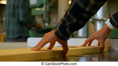 workshop, gebruik, timmerman, 4k, tafel zag