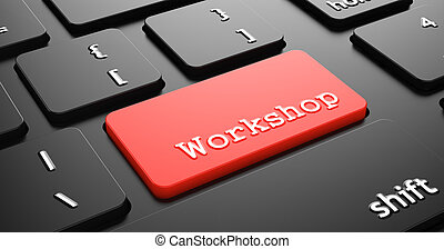 Workshop on Red Keyboard Button.