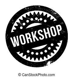 Workshop rubber stamp