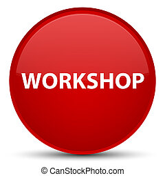 Workshop special red round button