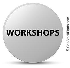 Workshops white round button