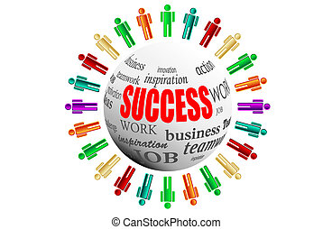 workteam business succes team work