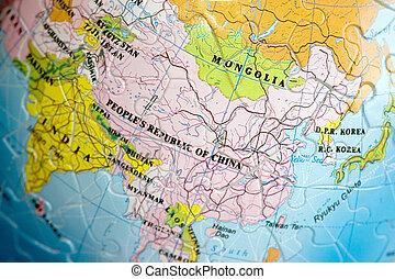 World 3D Puzzle: China