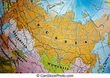 World 3D Puzzle: Russia - Close up on Russia