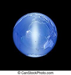 World - 3d rendered illustration