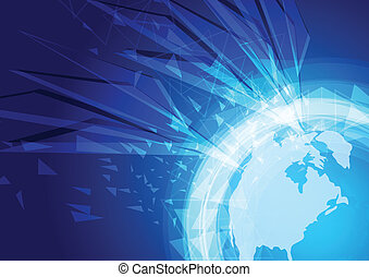World abstract background