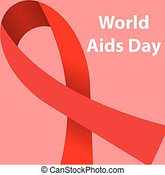 World AIDS Day concept poster