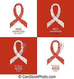 World AIDS Day poster set