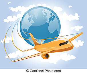 World Airplane Travel