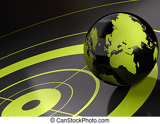 world and target geolocation - background - world and target...