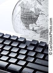 World at fingertips
