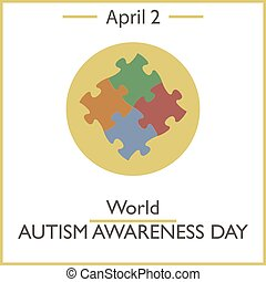 World Autism Awareness Day, April 2