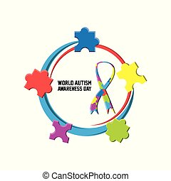 World Autism Awareness Day design