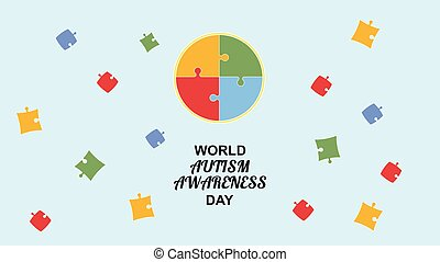 World autism awareness day.