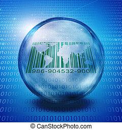 World Barcode with binary