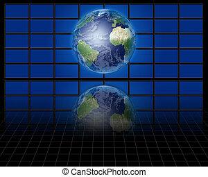 World before screens