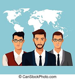 world business people teamwork