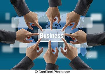 World business team