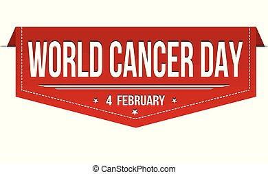 World cancer day banner design