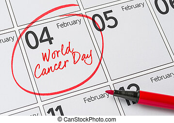 World Cancer Day, February 4