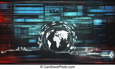world concept technology