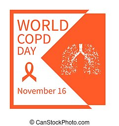 World COPD day poster