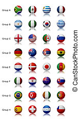 World cup 2010 - All teams - Soccer world championship 2010...