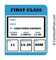 World Cup 2010 flight ticket