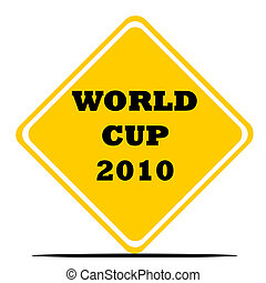 World Cup 2010 sign