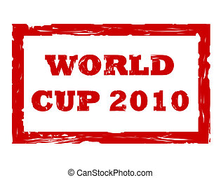 World Cup 2010 stamp