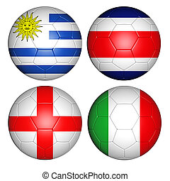 world cup 2014 group D