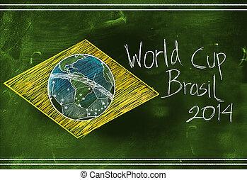 World cup Brasil 2014 sketch