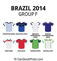 Soccer jerseys set for Argentina, Bosnia & Herzegovina, Iran, Nigeria