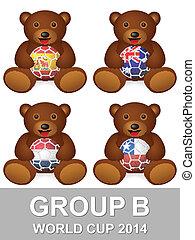 world cup group B bear