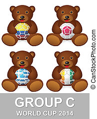 world cup group C bear