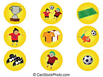 World Cup Illustration in Vector