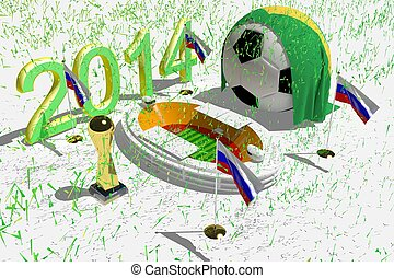 World Cup Stadium Russia