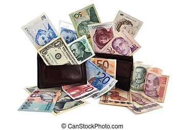 World currencies - I\'m ready for travelling around