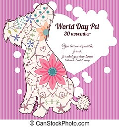 World day pet background