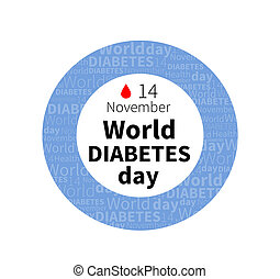 World diabetes day, november 14th banner